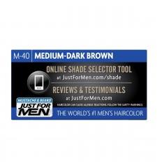 JUST FOR MEN - ZA BRKE IN BRADO barva: srednje - temno rjava M40