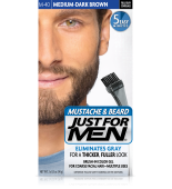 JUST FOR MEN - ZA BRKE IN BRADO barva: srednje - temno rjava M40